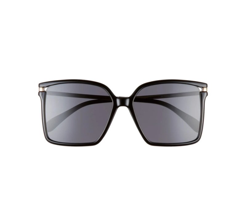 Givenchy 57mm Square Sunglasses. Image via Nordstrom.