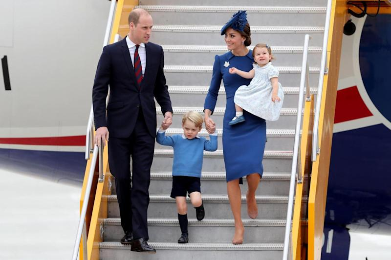 Family visit: the Royal Family touch down in Canada for a tour (PA WIRE)