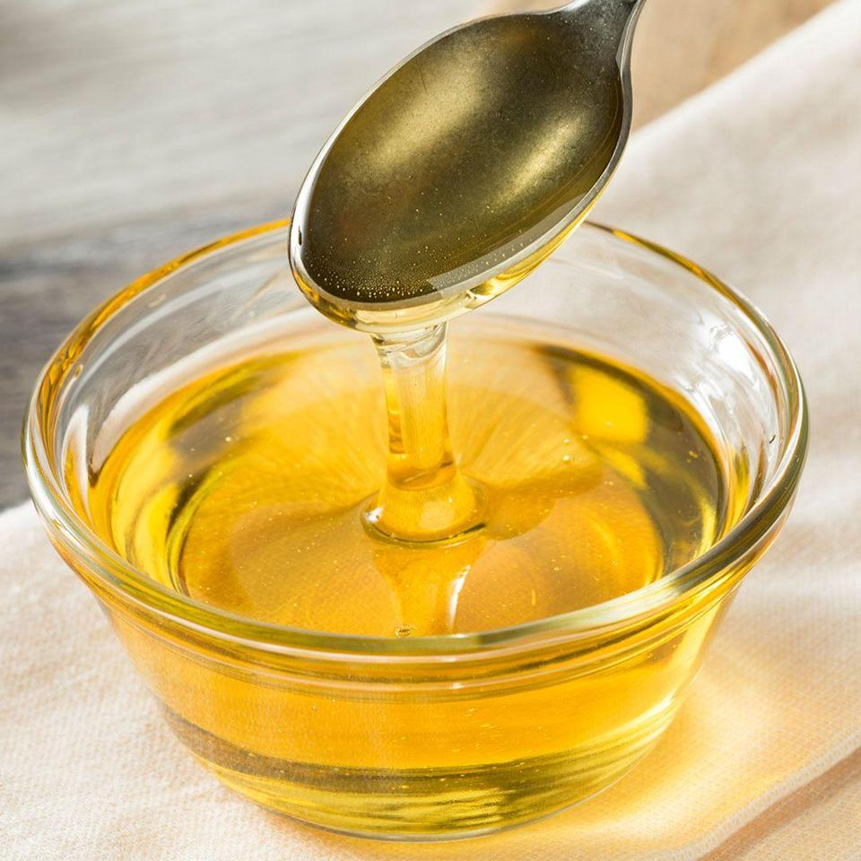 """<p>Did you replace honey with agave, thinking it's healthier? Think again. <a href=""""https://go.redirectingat.com?id=74968X1596630&url=https%3A%2F%2Fwww.nature.com%2Farticles%2Fsj.bdj.2017.697&sref=https%3A%2F%2Fwww.womenshealthmag.com%2Ffood%2Fg22617152%2Ffake-health-foods-to-avoid%2F"""" rel=""""nofollow noopener"""" target=""""_blank"""" data-ylk=""""slk:Most agave syrups are"""" class=""""link rapid-noclick-resp"""">Most agave syrups are</a> highly processed and more closely resemble high-fructose corn syrup. What's more, """"agave nectar goes straight to the liver when it gets absorbed, which is why it doesn't raise blood sugar. But large amounts can actually tax the liver, so it's not the best kind of sweetener,"""" says Foroutan. You're better off using honey or a light sprinkling of plain old sugar.</p>"""