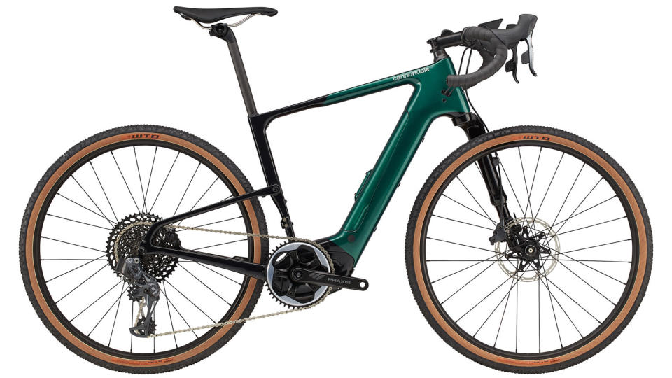 Best electric gravel bike: Cannondale Topstone Neo Lefty 1