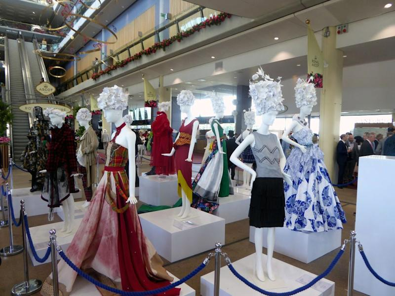 Dresses from across the Commonwealth on display at Royal Ascot 2018.