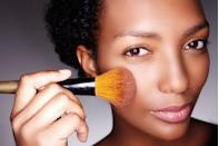 """<p>No matter if you are going for a <a href=""""https://www.goodhousekeeping.com/beauty/makeup/a28773976/no-makeup-makeup-look/"""" rel=""""nofollow noopener"""" target=""""_blank"""" data-ylk=""""slk:no-makeup makeup look"""" class=""""link rapid-noclick-resp"""">no-makeup makeup look</a> or full-on glam, <a href=""""https://www.goodhousekeeping.com/beauty/makeup/g5039/best-blush/"""" rel=""""nofollow noopener"""" target=""""_blank"""" data-ylk=""""slk:blush"""" class=""""link rapid-noclick-resp"""">blush</a> is an essential component of your cosmetic equation. It's often the finishing touch to give your face a little color and depth, and it makes your skin look healthier. There is an art to the application — overdo it and you risk looking like a clown, or apply the wrong way and make yourself look older. </p><p><strong>When it comes to <a href=""""https://www.goodhousekeeping.com/beauty/makeup/how-to/a37479/best-blush-tips/"""" rel=""""nofollow noopener"""" target=""""_blank"""" data-ylk=""""slk:applying blush"""" class=""""link rapid-noclick-resp"""">applying blush</a>,</strong> people often think of location, but blush <em>color</em> can make or break the look. Makeup artist <a href=""""https://ajcrimson.com/pages/about-us"""" rel=""""nofollow noopener"""" target=""""_blank"""" data-ylk=""""slk:AJ Crimson"""" class=""""link rapid-noclick-resp"""">AJ Crimson</a> says that using shades that are too light or applying too much of the wrong shade is a major no-no. But don't let that scare you: """"Simply build it up until it's at a nice place that feels natural or like a whisper of color,"""" he says. To get just the right amount, Crimson advises using the inner palm of the hand just below the thumb. """"The cushiony part of the hand is just soft enough to apply your cream blush perfectly,"""" he says. """"You can apply the cream to the right hand and use it on the left cheek, and vice versa."""" </p><p><strong>As for picking the best blush colors for dark skin,</strong> Crimson says to find shades that complement or share the same family of your natural undertones. """"I love deep purples, warm pinks and"""