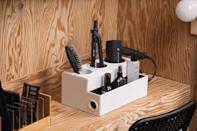 <p>Meet your new beauty storage solution: the <span>Jack Cube Hair Tool Holder</span> ($39, originally $43).</p>