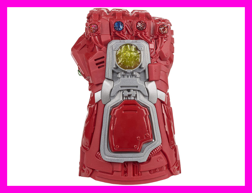Save 34 percent on this Marvel Iron Man Endgame Gauntlet, today only! (Photo: Amazon)