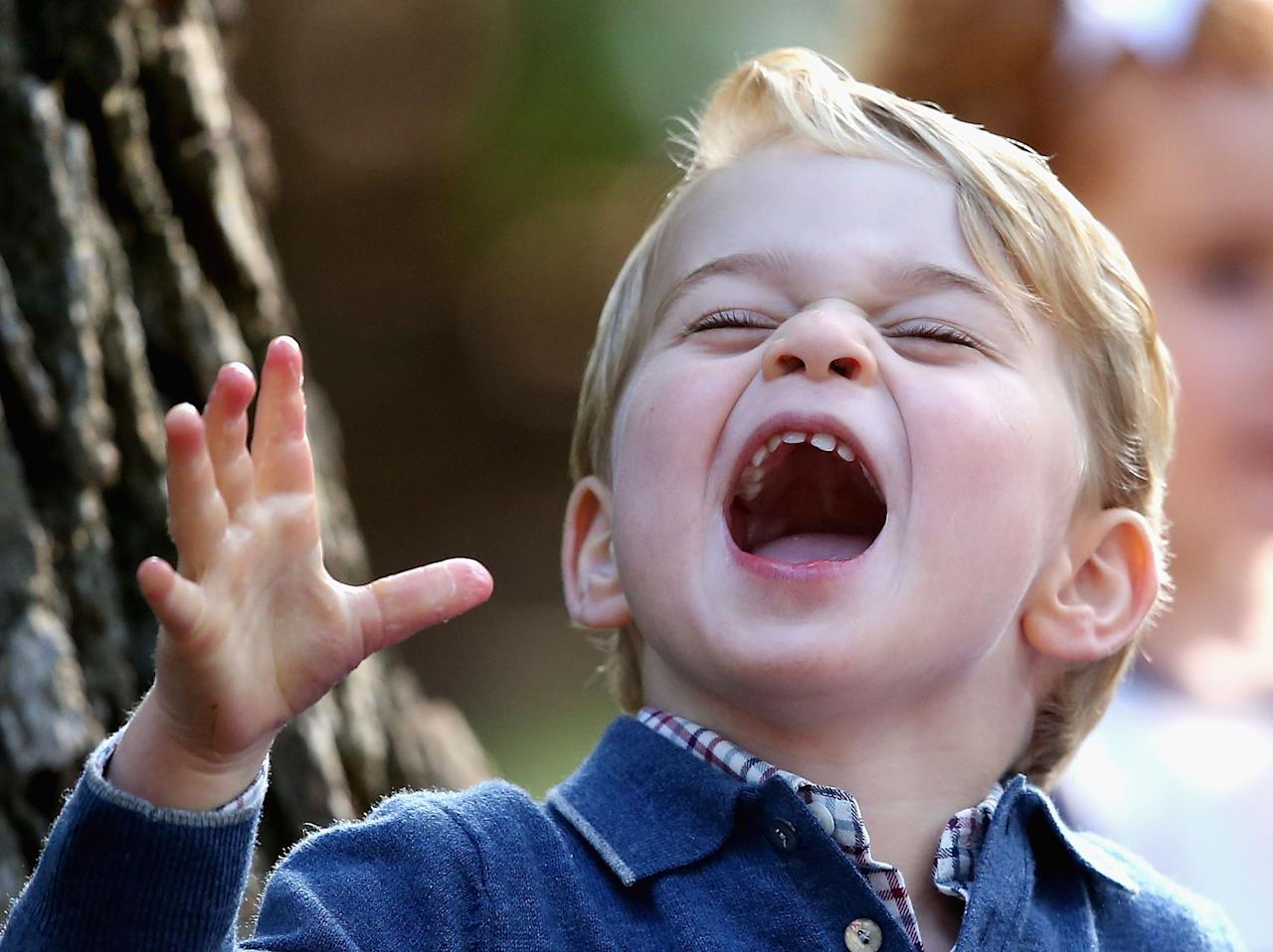 """<p>Tomorrow, Prince George turns four years old. The future king of England's adorable face never fails to make us smile, with his grumpy grimaces and jubilant grins―truly, <a href=""""http://www.elle.com/culture/celebrities/news/a25042/happy-birthday-prince-george/"""" target=""""_blank"""">there's a Prince George face</a> for <a href=""""http://www.elle.com/culture/celebrities/news/g30004/grumpy-prince-george-is-you-on-a-monday/"""" target=""""_blank"""">every mood we've ever felt</a>. Here, some of the cutest photos of the wee lad's royal visage, in honor of his birthday.</p>"""