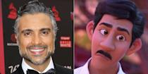"""<p>Gael García Bernal and Benjamin Bratt are the marquee names in this Pixar movie, but <em>Jane the Virgin</em> fans surely recognized the voice of Miguel's dad as Rogelio from The CW series. """"It was very special and very touching for me to see my name on the end credits,"""" <a href=""""https://www.youtube.com/watch?v=fl8Yrsbq2Ek"""" rel=""""nofollow noopener"""" target=""""_blank"""" data-ylk=""""slk:Jaime Camil said"""" class=""""link rapid-noclick-resp"""">Jaime Camil said</a> in an interview about his role as Papá in the movie. """"That was [a] moment that I cried.""""</p>"""