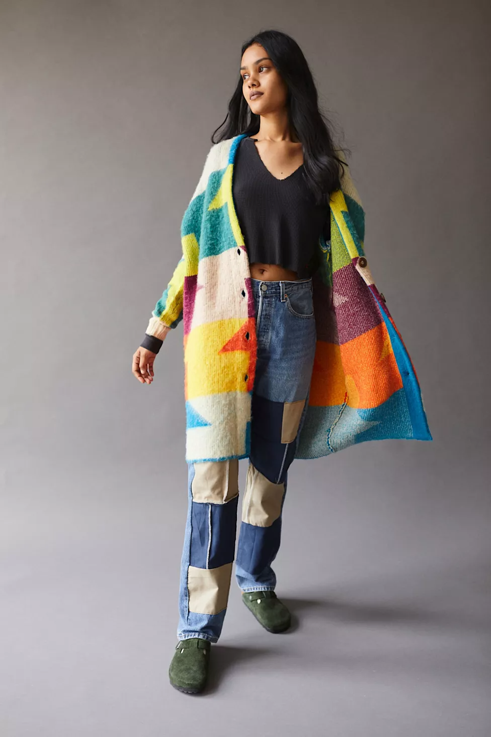 """<br><br><strong>BDG</strong> Presley Longline Cardigan, $, available at <a href=""""https://go.skimresources.com/?id=30283X879131&url=https%3A%2F%2Fwww.urbanoutfitters.com%2Fshop%2Fbdg-presley-longline-cardigan"""" rel=""""nofollow noopener"""" target=""""_blank"""" data-ylk=""""slk:Urban Outfitters"""" class=""""link rapid-noclick-resp"""">Urban Outfitters</a>"""
