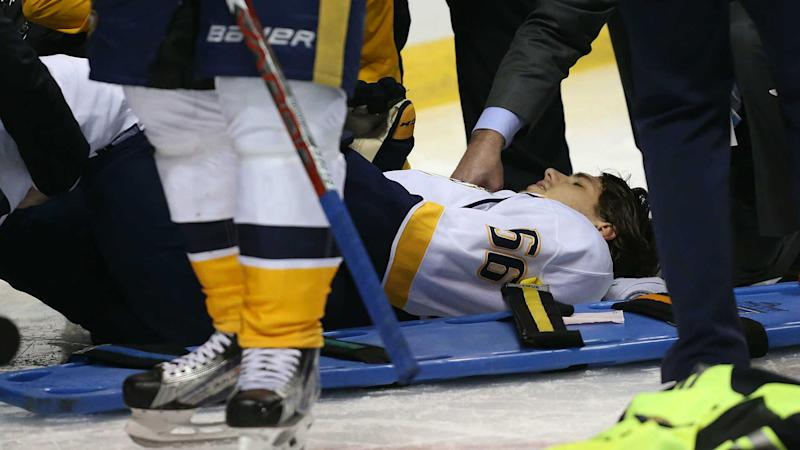 Predators forward Fiala suffers broken leg, out for rest of Stanley Cup playoffs
