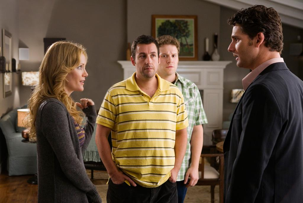 """7/31 - <a href=""""http://movies.yahoo.com/movie/1810041785/info"""">FUNNY PEOPLE</a>    """"Knocked Up"""" and """"40-Year-Old Virgin"""" creator Judd Apatow writes and directs this comedy/drama about a stand-up comedian starring Adam Sandler and Seth Rogen."""