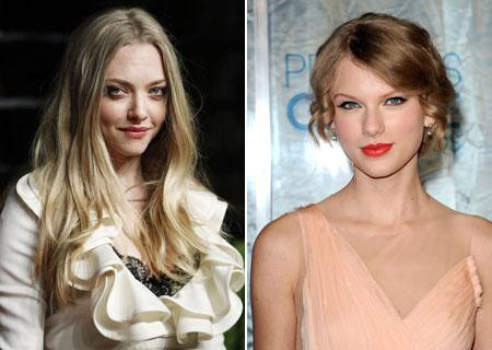 "Amanda Seyfried y Taylor Swift, ¿nuevos fichajes de ""Los miserables""?"