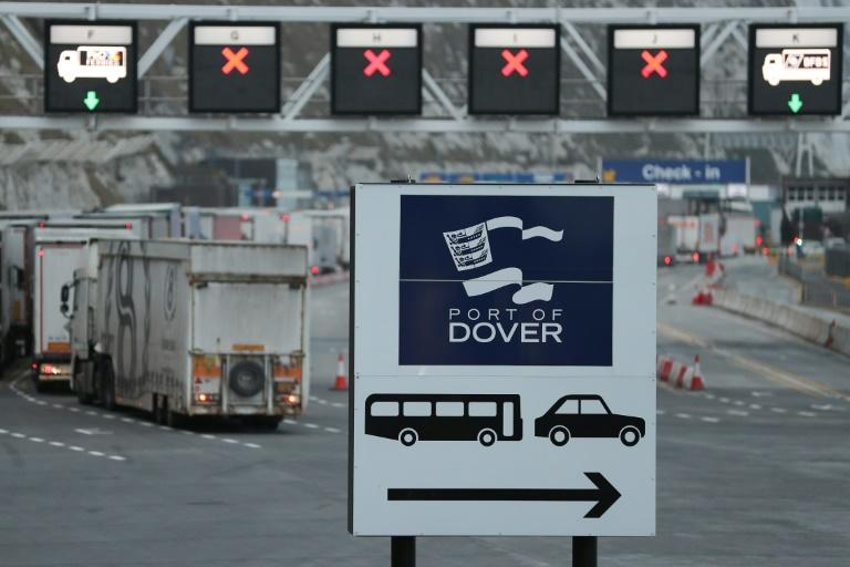 With less than a year until Brexit, there are fears in the English port of Dover of long tailbacks for trucks because of additional customs red tape