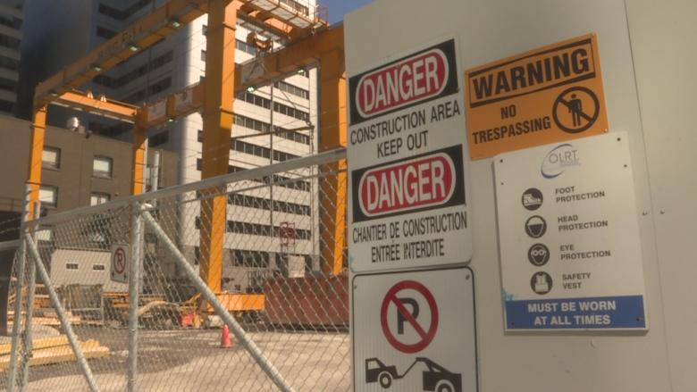 Ottawa's transit boss defends safety at LRT construction sites