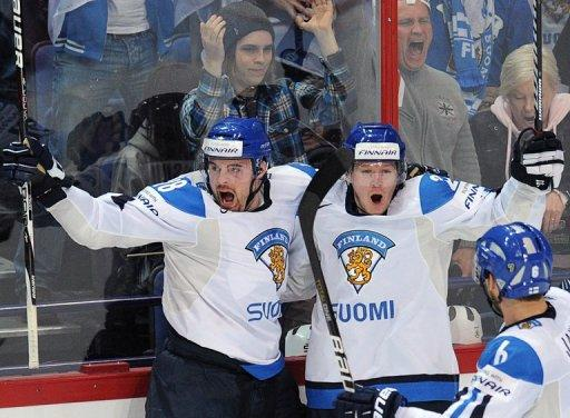 Finland is preparing to do battle for a place in the ice hockey world championship final