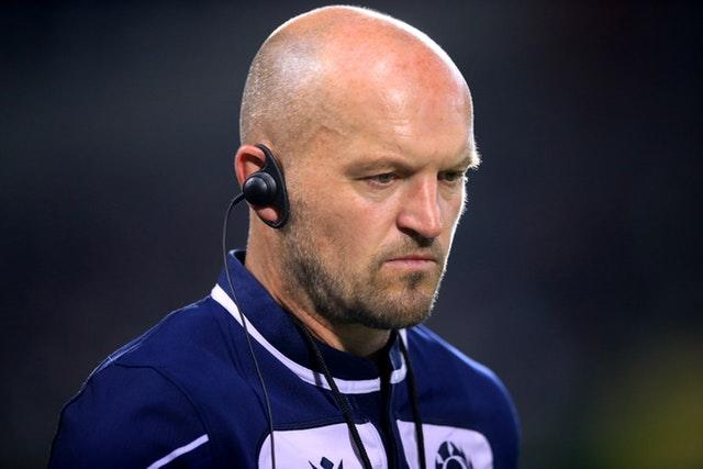 Gregor Townsend's Scotland could see their match against Japan called off due to Typhoon Hagibis (Adam Davy/PA).