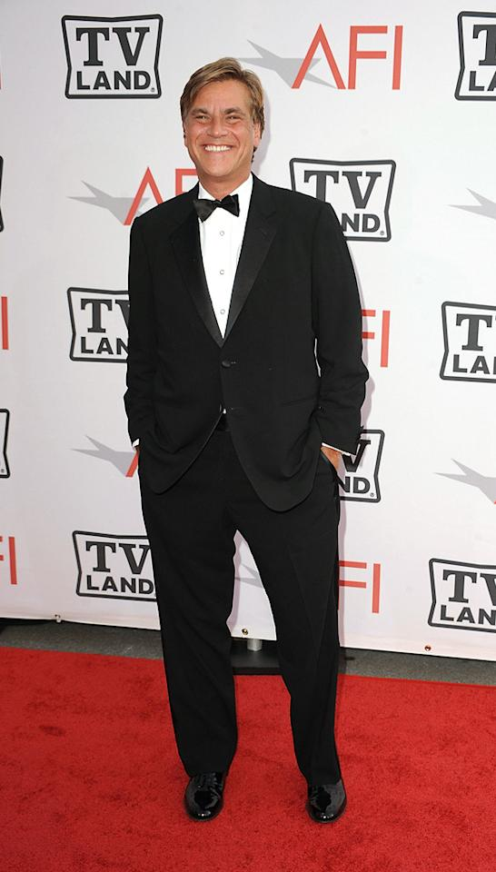 "<a href=""http://movies.yahoo.com/movie/contributor/1802760260"">Aaron Sorkin</a> attends the 38th Annual Lifetime Achievement Award Honoring Mike Nichols at Sony Pictures Studios on June 10, 2010 in Culver City, California."