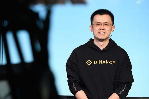 Changpeng Zhao, CEO of Binance, the world's largest cryptocurrency exchange by trading volume. (Akio Kon/Bloomberg)