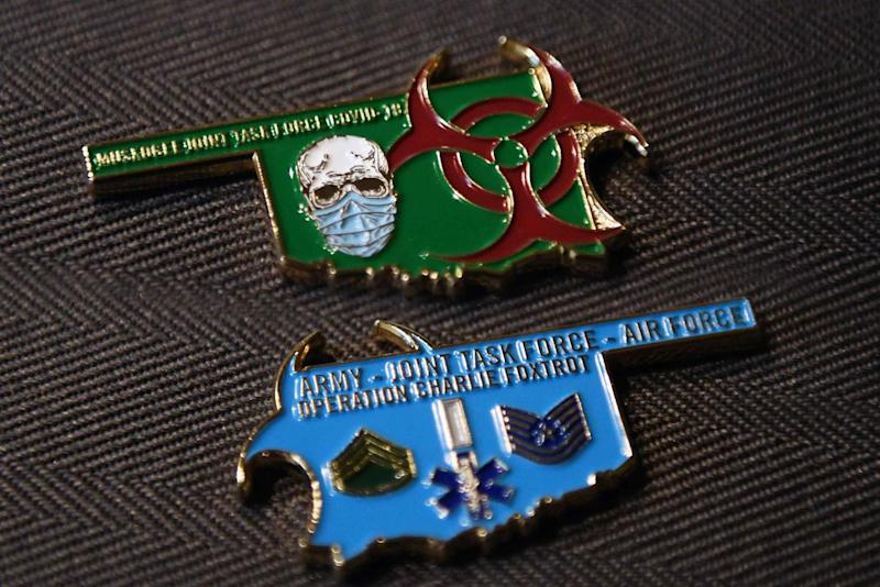 They Really Did It: Guard Members Create COVID-19 Challenge Coin