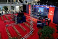 Cleveland is hosting the first of three presidential debates