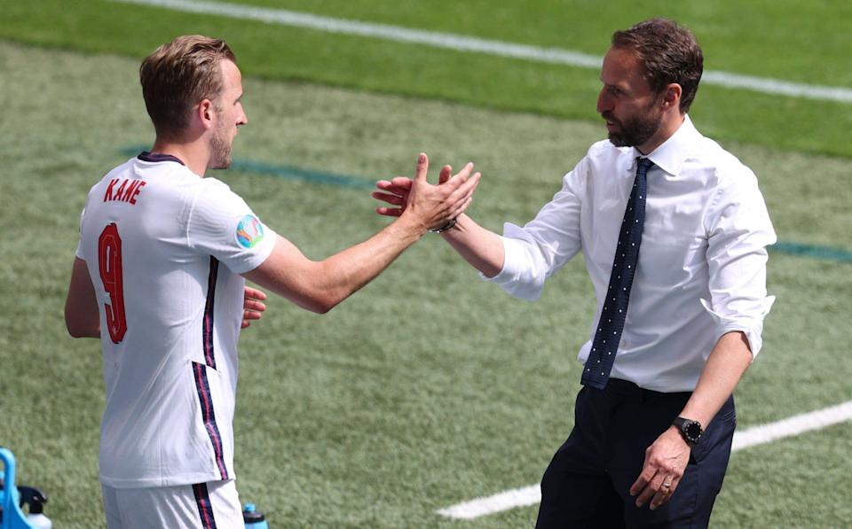 Harry Kane and Gareth Southgate - GETTY