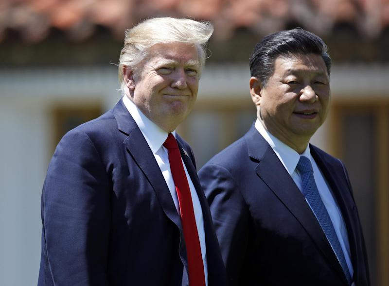 Mr Trump calls his relationship with Mr Xi 'outstanding': AP