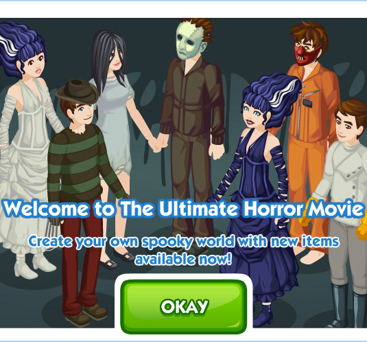 The Sims Social The Ultimate Horror Movie Week