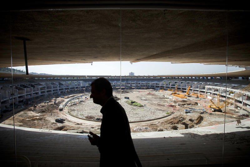 "FILE - The Maracana stadium that is undergoing renovation  in Rio de Janeiro, Brazil, Wednesday June 8, 2011 and which will be the venue for the final of the 2014 soccer World Cup. The head of last year's World Cup in South Africa has urged his Brazilian counterparts to keep a close eye on building schedules to make sure the 2014 tournament is ready on time.  FIFA officials have repeatedly said preparations are behind schedule. FIFA Secretary General Jerome Valcke told Brazilian lawmakers recently that the pace had to be stepped up, saying ""we are late, we can't lose a day."" (AP Photo/Victor R. Caivano, file)"
