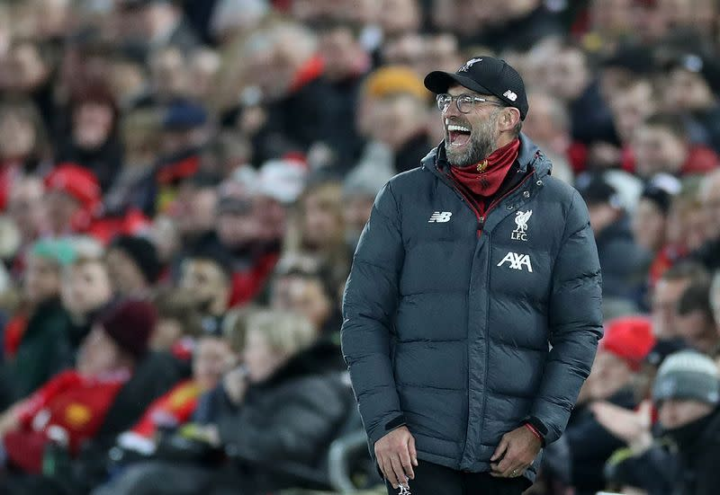 Relentless Liverpool on course to shatter Premier League points record