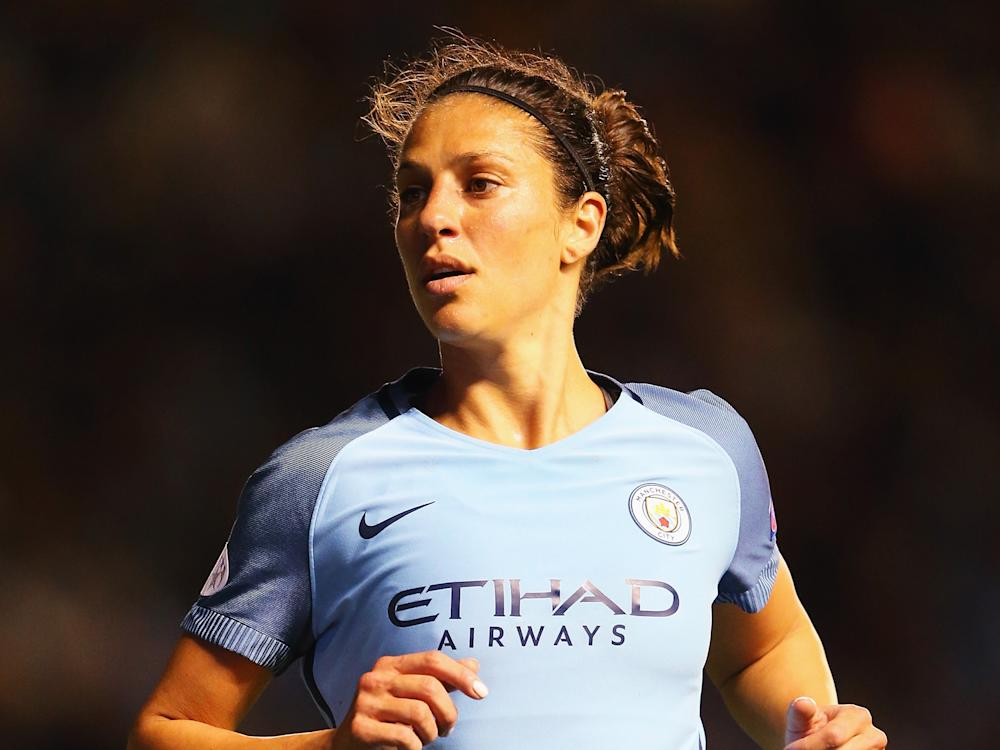 Carli Lloyd has the edge over her compatriot Alex Morgan, according to Lucy Ward: Getty