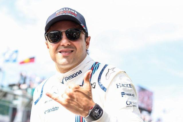 Rocking performance: Felipe Massa showed the young guns how it should be done with an impressive sixth in the Williams