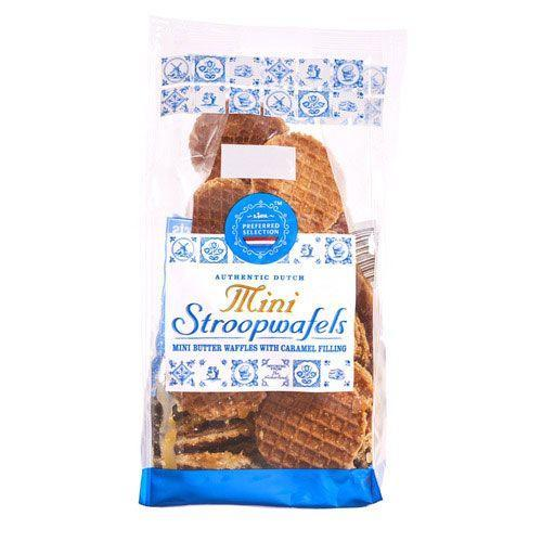 <p>These Dutch treats are more than just cookies. They're mini waffles with caramel sandwiched in between. So yeah, not your average Oreo.</p>