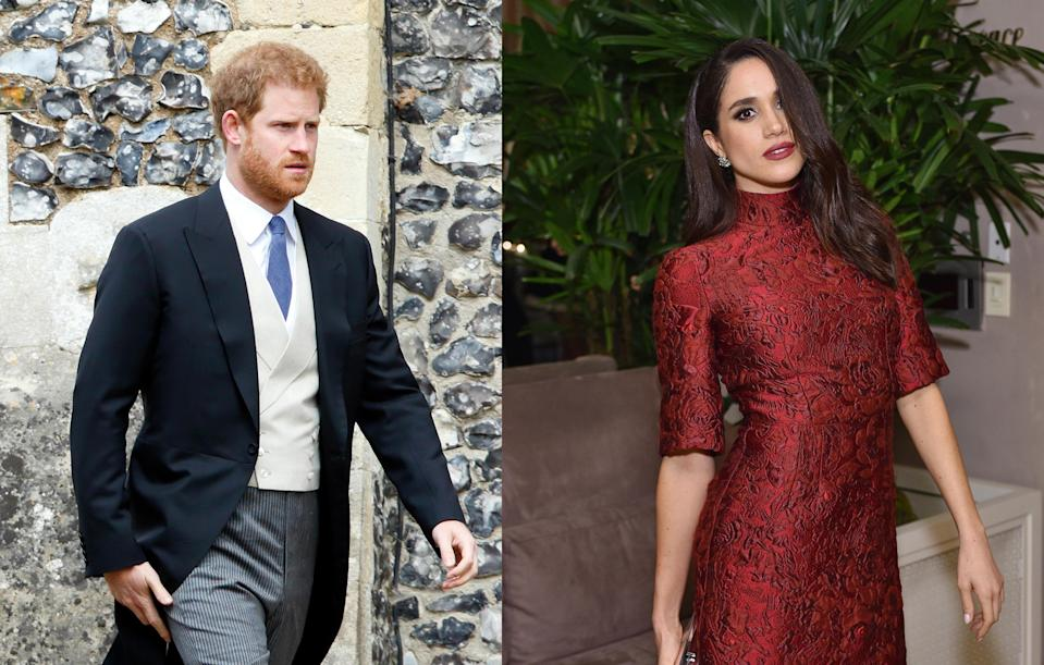 <p>In May, the Duchess of Cambridge's sister Pippa Middleton married James Matthews. Plenty of royals were in attendance including Prince Harry. Although Meghan didn't show up to the ceremony, a source said she was at the evening reception wearing a maroon backless dress. Unfortunately, no pictures were taken.<br><i>[Photo: Getty]</i> </p>