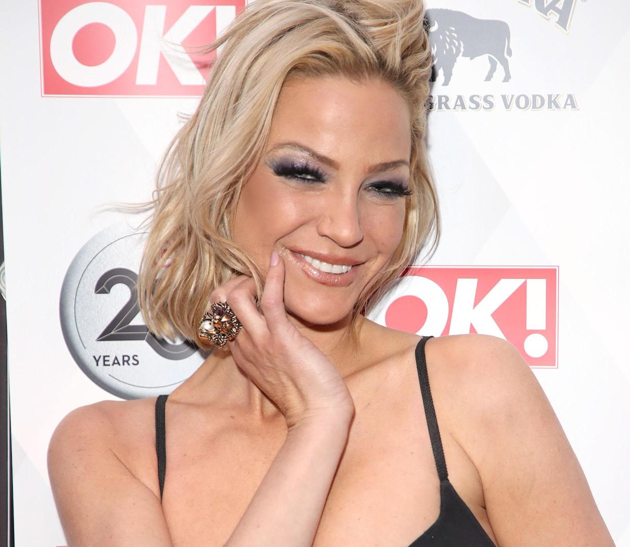 Sarah Harding was treated at the Christie Foundation in Manchester prior to her death. (Getty Images)