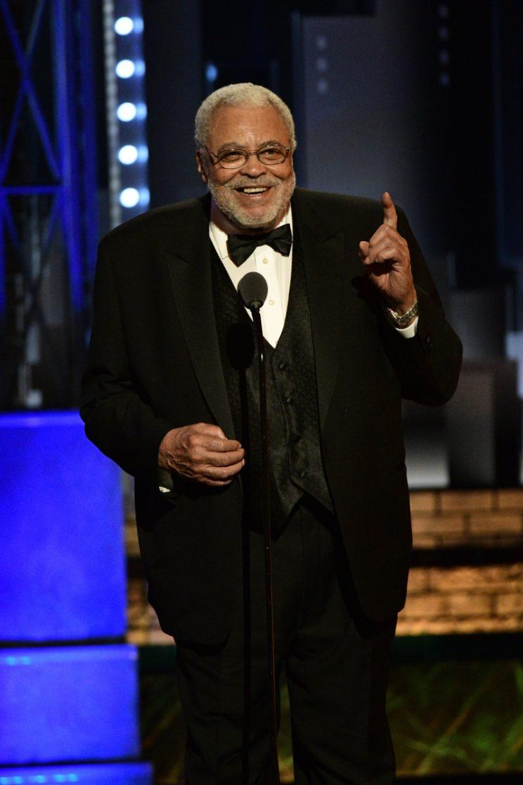 James Earl Jones, recipient of the Special Tony Award for Lifetime Achievement in the Theater.