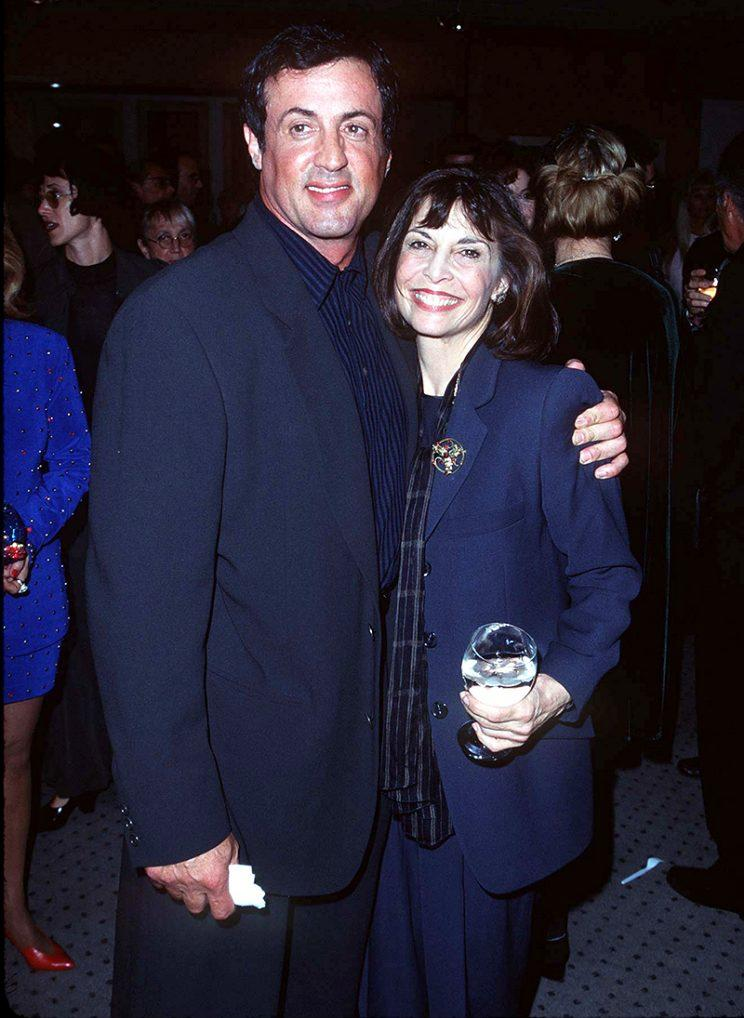 Sylvester Stallone and Talia Shire at the 20th anniversary screening in California (Photo: SGranitz/WireImage)
