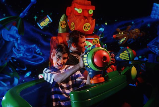 Have fun on Buzz Lightyear's Laser Blast. [Photo: Disney]