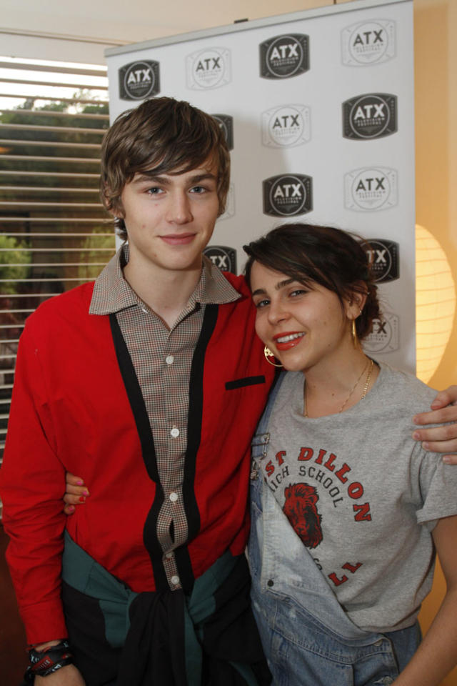 """Miles Heizer and Mae Whitman attend the """"Friday Night Lights"""" Community Screening at the ATX Television Festival on Friday, June 7, 2013 in Austin, Texas."""