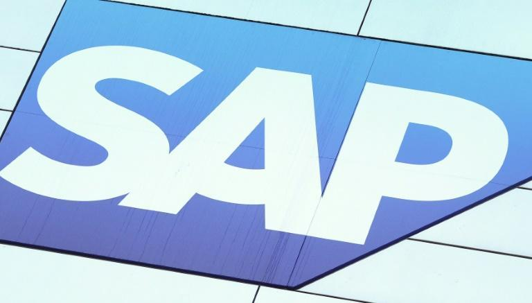 The Walldorf-based group SAP, which offers both traditional software and cloud computing services, where companies pay a subscription fee to store their data on remote servers, said it had benefitted from firms doing more work online