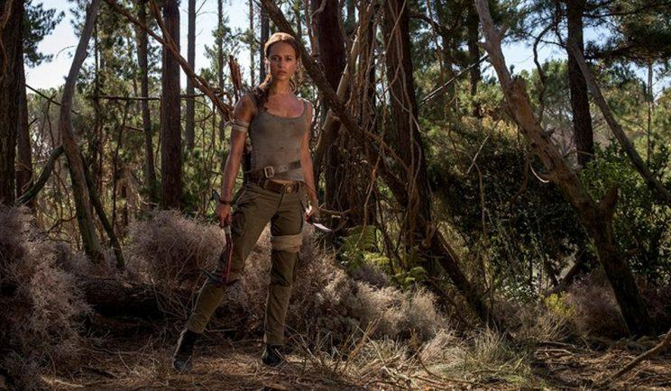 Alicia Vikander as Lara Croft - Credit: Warner Bros.