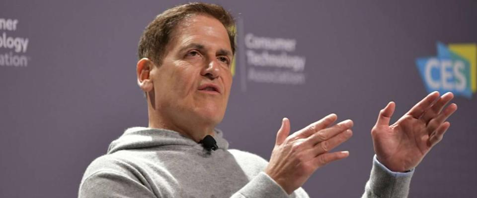 Mark Cuban speaking on stage