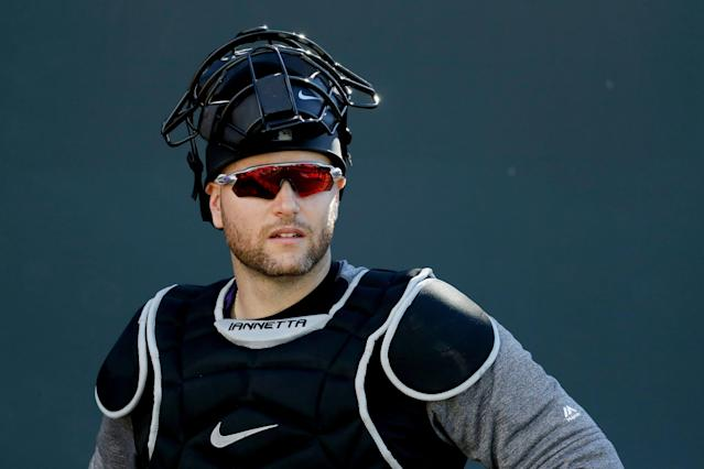 The biggest issue in the eyes of Colorado Rockies catcher Chris Iannetta is incentivizing teams to win. (AP)
