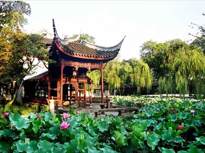 """Known as the 'Venice of China,' Suzhou is renowned for its canals impeccable silk, deep cultural roots, and noteworthy architecture. Suzhou Tourism is providing an experimental package that includes a luxurious silk robe from Xiu Niang Silk, one of the most famous silk companies in China, and a two-night stay within a Regency Suite at the prestigious Hyatt Regency Suzhou."""""""
