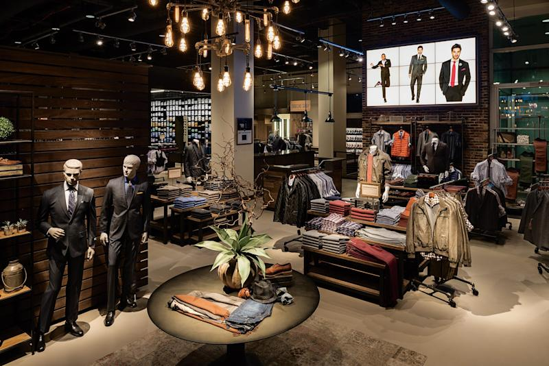 The Men's Wearhouse flagship store in Manhattan in 2014.