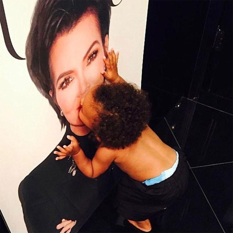 Saint West | Kris Jenner/ Instagram