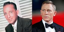 <p>You can't miss the ears on either Bing Crosby or Daniel Craig. Paired with their blue eyes and oval-shaped faces, there's almost no telling them apart. </p>