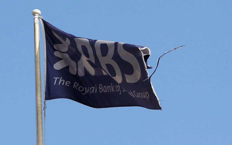 RBS flag - REUTERS/Russell Cheyne/File Photo