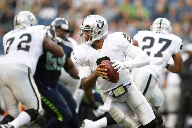 Terrelle Pryor doesn't have great final audition, so who will be Raiders' starting quarterback?