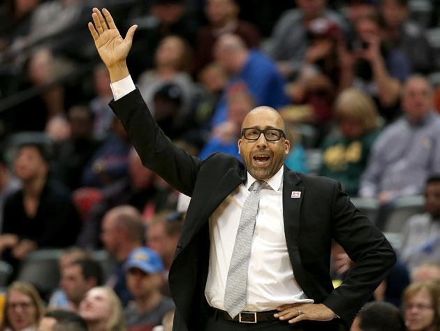 David Fizdale rises up. (Getty Images)