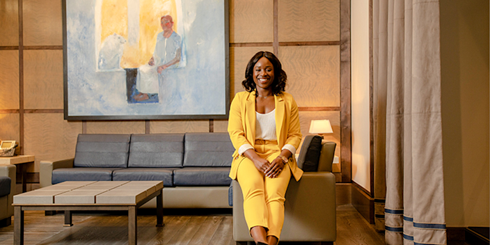 47) Abisola Barber, vice president, markets business manager, Barclays Bank. Photo: Barclays Bank