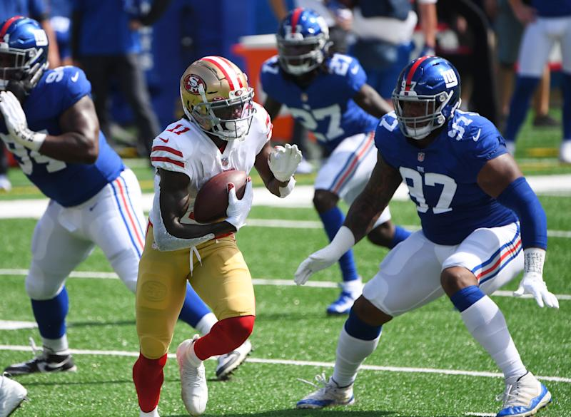 Observations from a 49ers blowout over the Giants