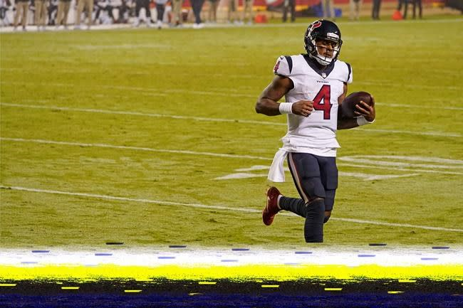 Johnson shines as Texans fall to Chiefs in season opener